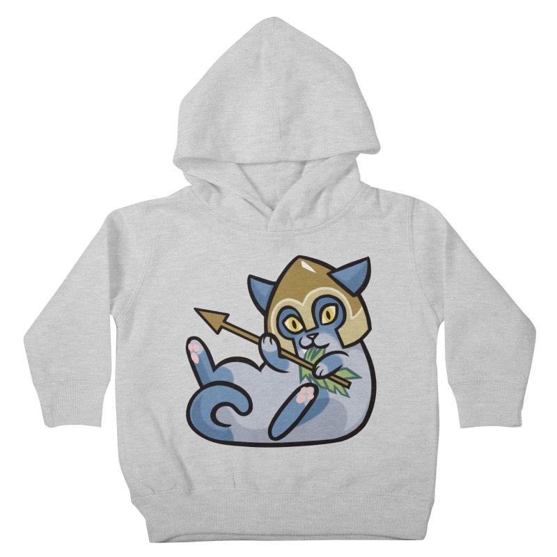 Arrow Cat Kids Toddler Pullover Hoody by mirana's Artist Shop