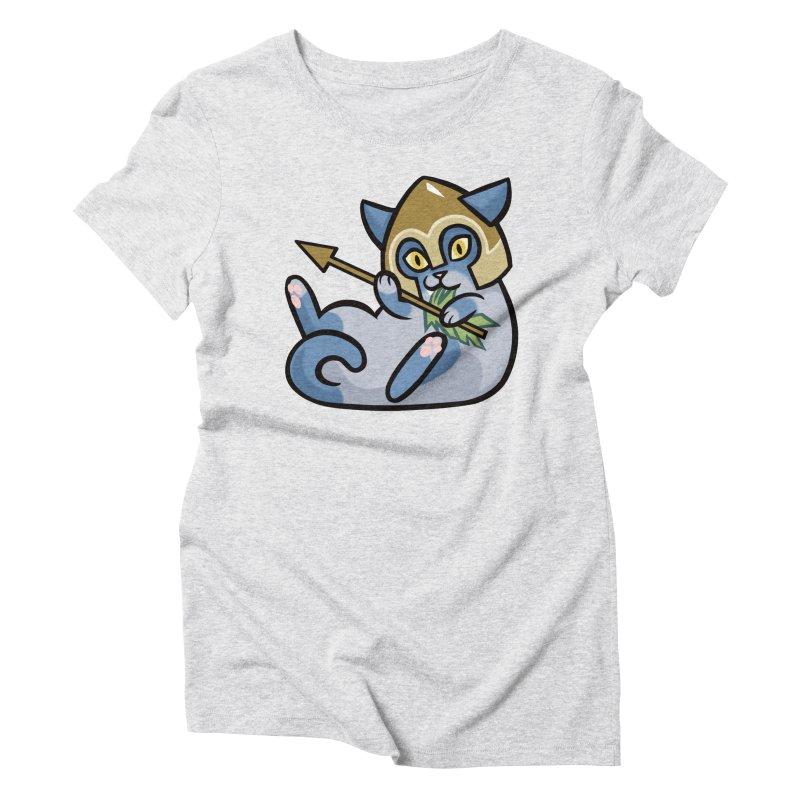 Arrow Cat Women's T-Shirt by The Art of Mirana Reveier