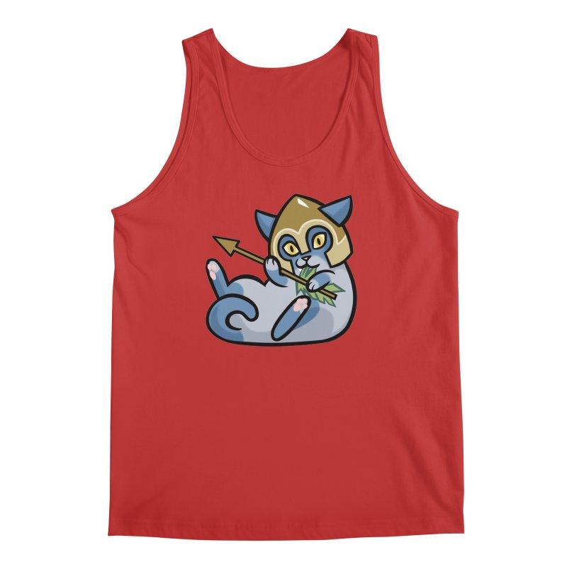 Arrow Cat Men's Regular Tank by mirana's Artist Shop