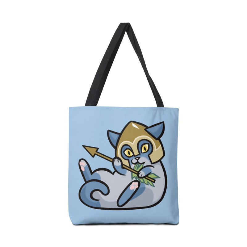 Arrow Cat Accessories Tote Bag Bag by mirana's Artist Shop