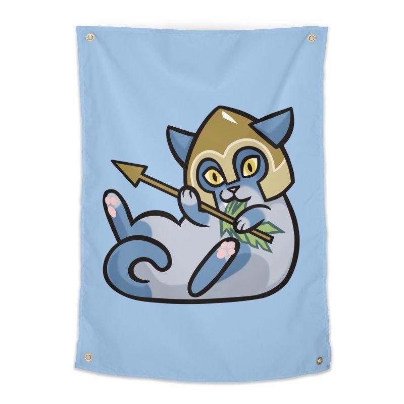 Arrow Cat Home Tapestry by The Art of Mirana Reveier