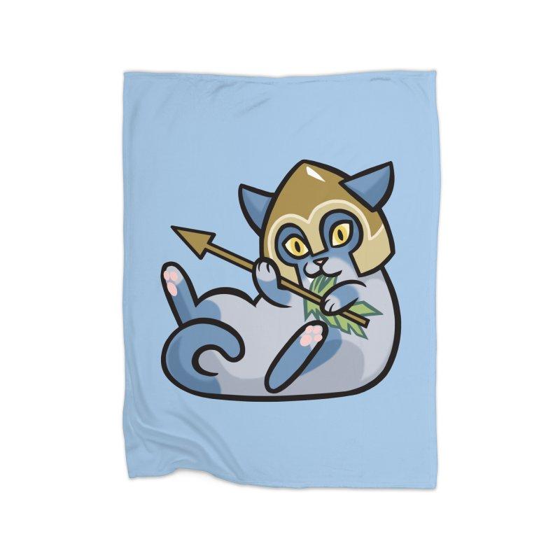 Arrow Cat Home Blanket by The Art of Mirana Reveier