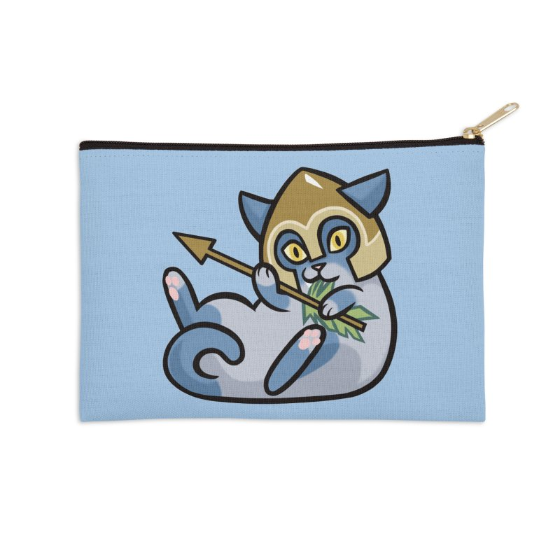 Arrow Cat Accessories Zip Pouch by mirana's Artist Shop