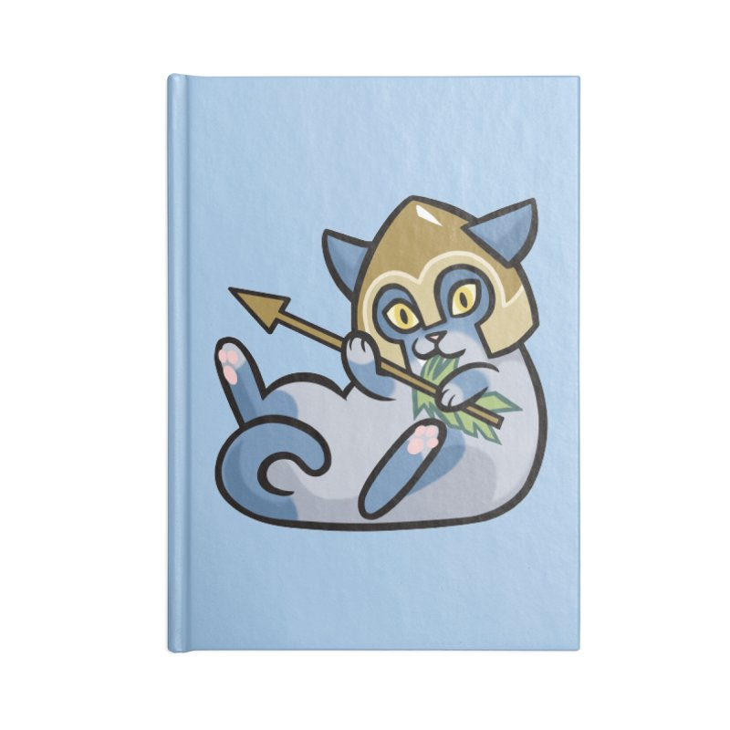 Arrow Cat Accessories Notebook by mirana's Artist Shop