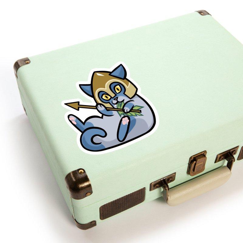 Arrow Cat Accessories Sticker by The Art of Mirana Reveier