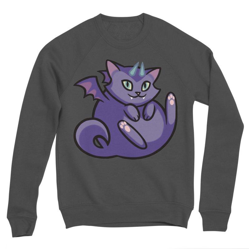 Demon Cat Men's Sweatshirt by The Art of Mirana Reveier