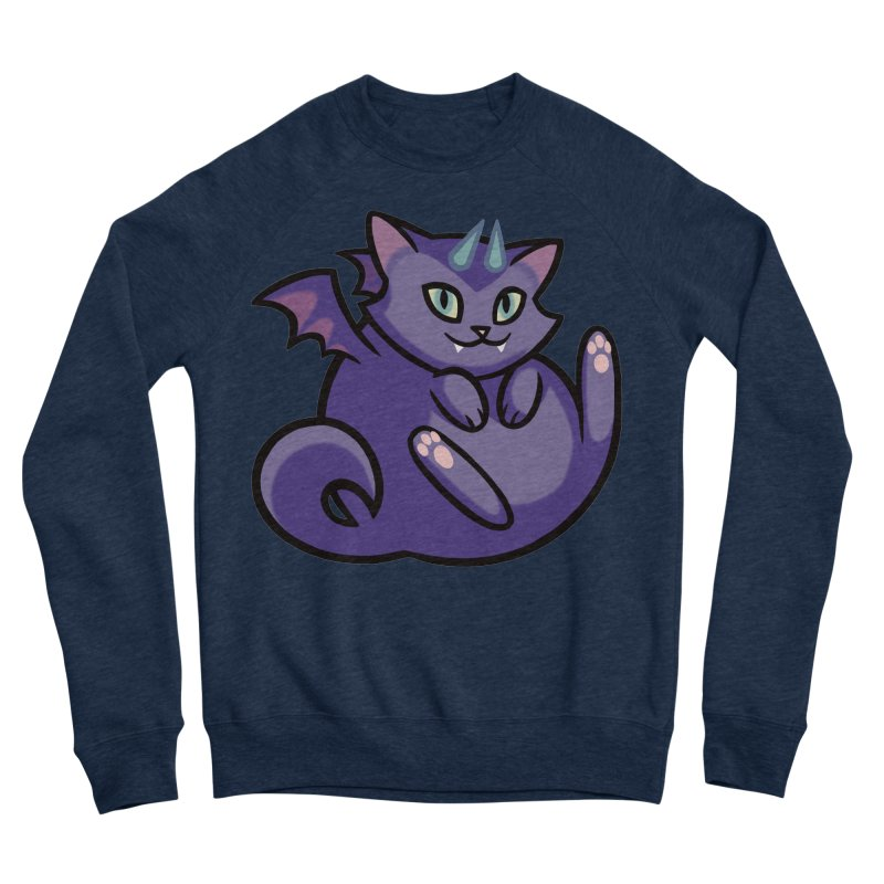 Demon Cat Men's Sweatshirt by The Art of Mirana Reveier