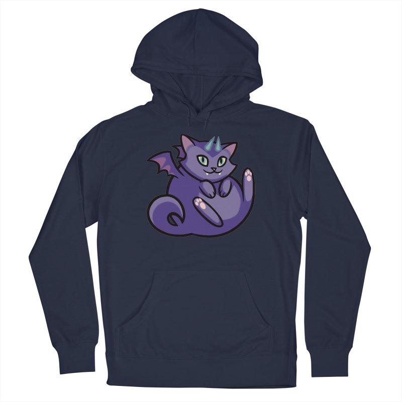Demon Cat Men's Pullover Hoody by The Art of Mirana Reveier