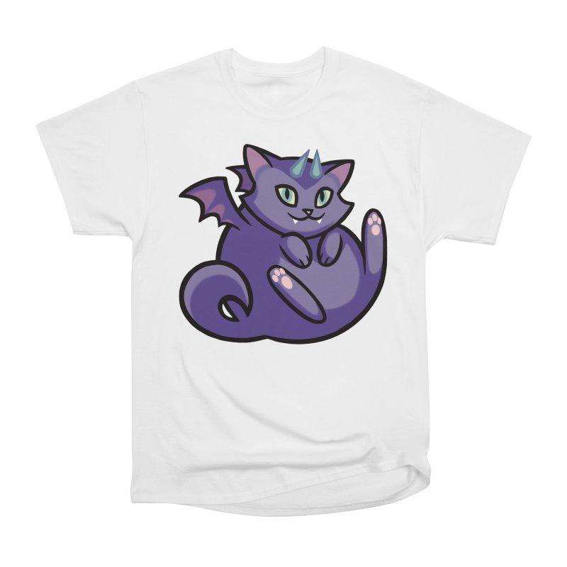 Demon Cat Women's T-Shirt by The Art of Mirana Reveier