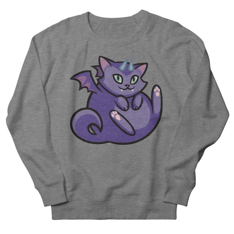 Demon Cat Women's Sweatshirt by mirana's Artist Shop