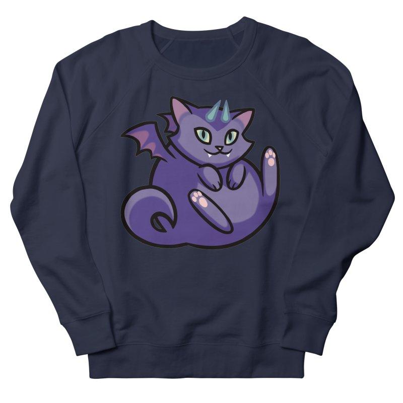 Demon Cat Men's Sweatshirt by mirana's Artist Shop