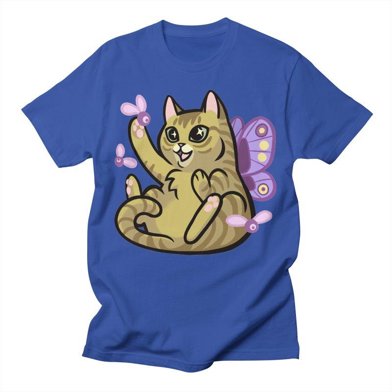 Fairy Cat Men's T-Shirt by The Art of Mirana Reveier