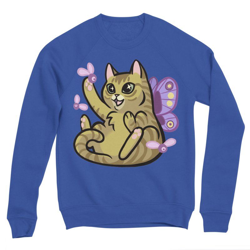 Fairy Cat Men's Sweatshirt by The Art of Mirana Reveier