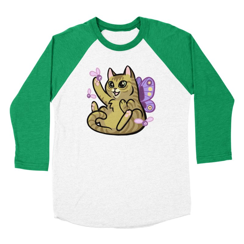 Fairy Cat Women's Longsleeve T-Shirt by The Art of Mirana Reveier
