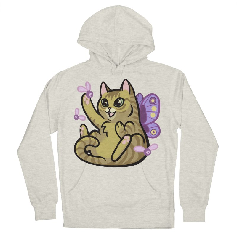 Fairy Cat Women's French Terry Pullover Hoody by mirana's Artist Shop