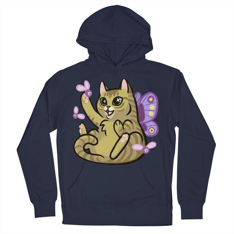 Fairy Cat Women's Pullover Hoody by mirana's Artist Shop