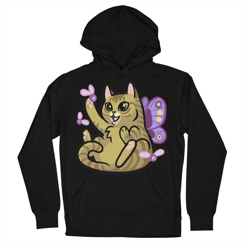 Fairy Cat Men's Pullover Hoody by mirana's Artist Shop