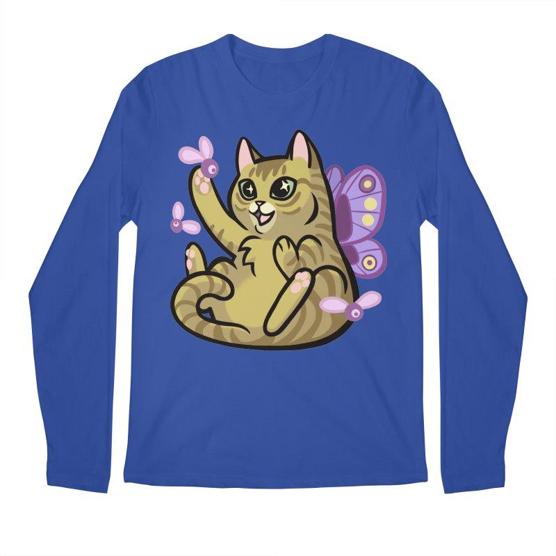 Fairy Cat Men's Regular Longsleeve T-Shirt by mirana's Artist Shop