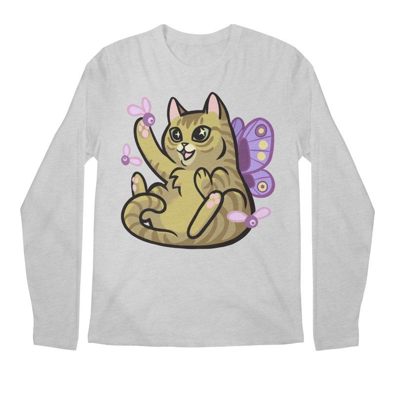 Fairy Cat Men's Longsleeve T-Shirt by The Art of Mirana Reveier