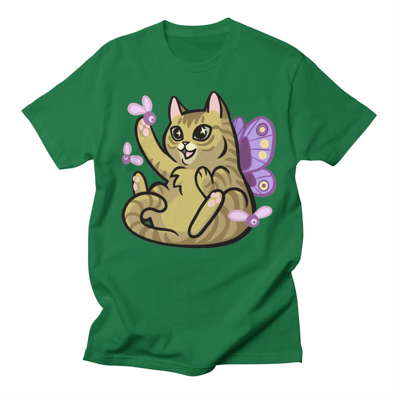 Fairy Cat Men's Regular T-Shirt by mirana's Artist Shop