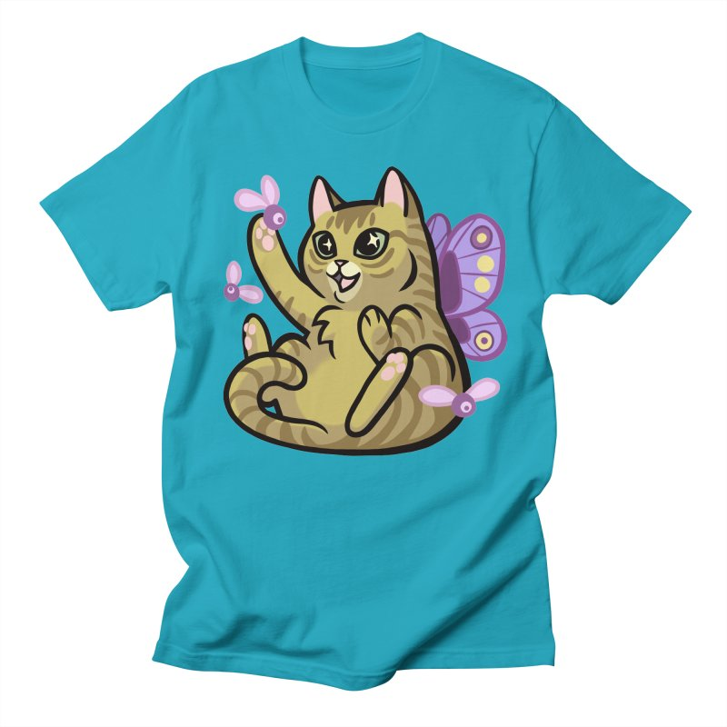 Fairy Cat Men's T-Shirt by mirana's Artist Shop