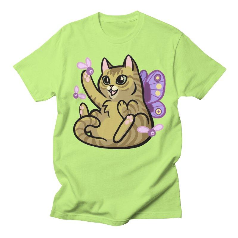 Fairy Cat Men's Regular T-Shirt by mirana's Artist Shop