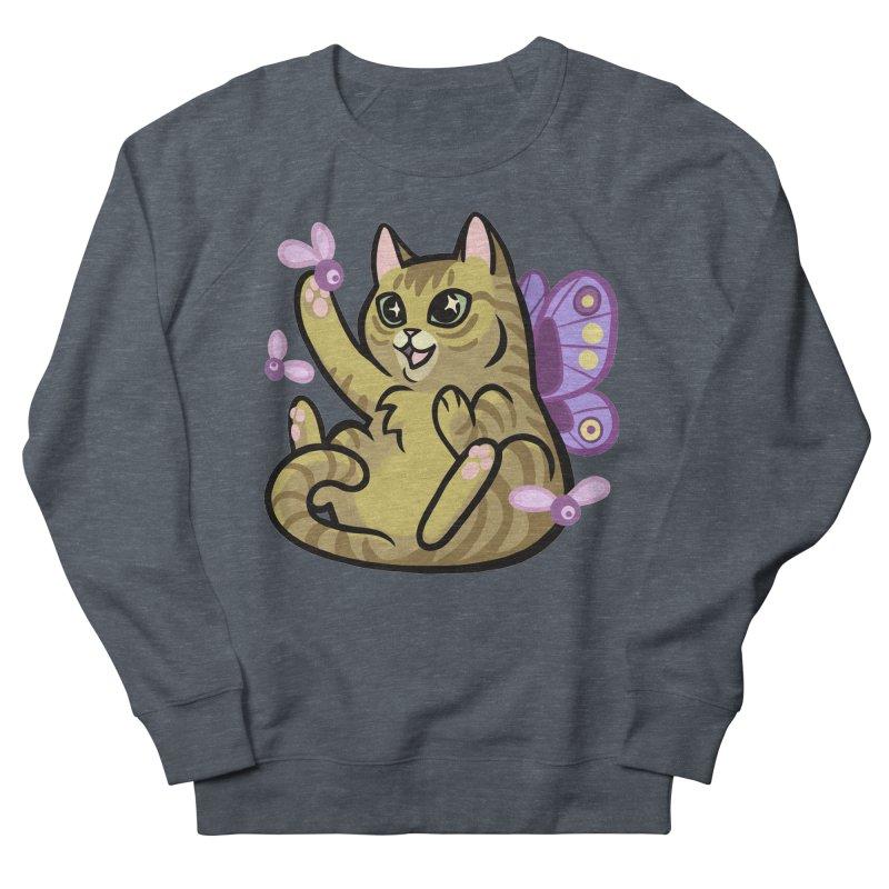 Fairy Cat Women's French Terry Sweatshirt by mirana's Artist Shop