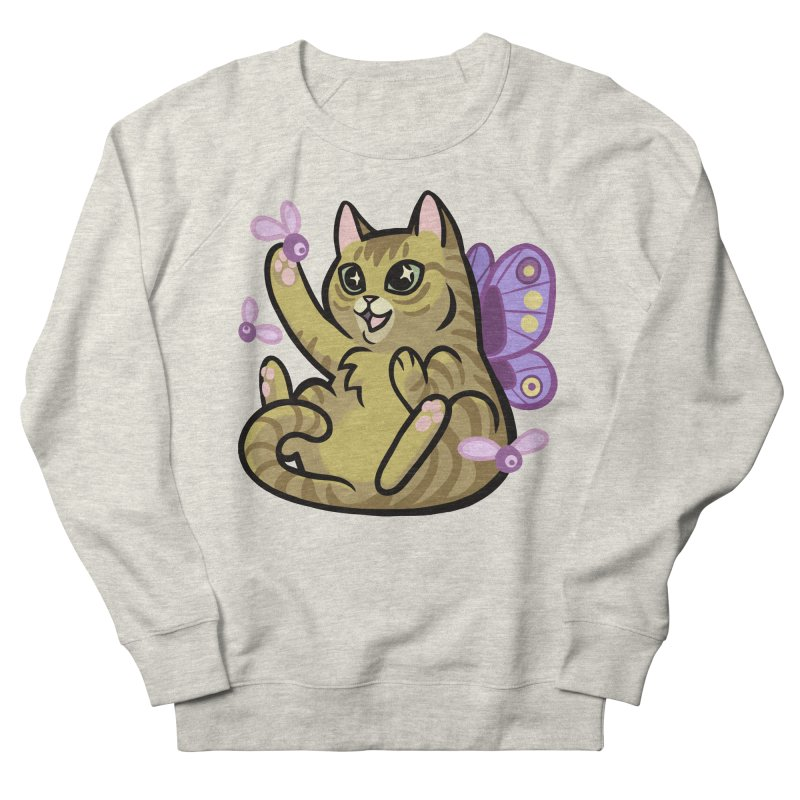 Fairy Cat Women's Sweatshirt by mirana's Artist Shop