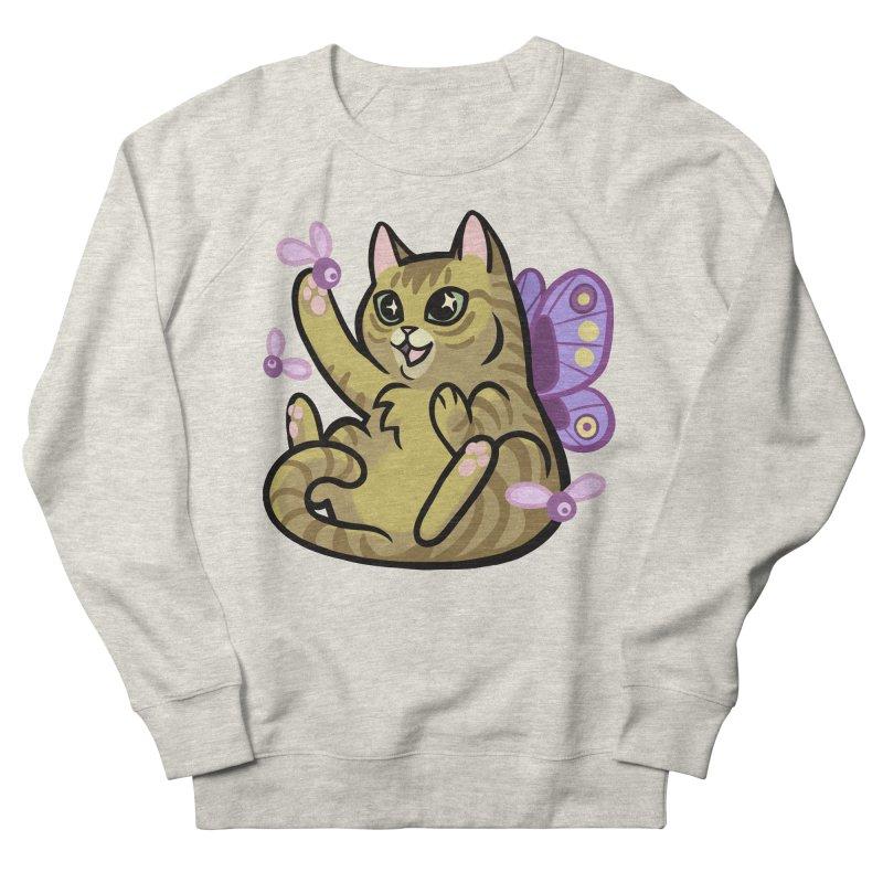Fairy Cat Men's Sweatshirt by mirana's Artist Shop