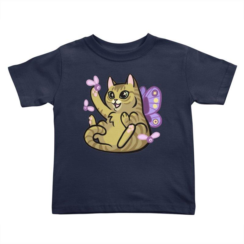 Fairy Cat Kids Toddler T-Shirt by The Art of Mirana Reveier