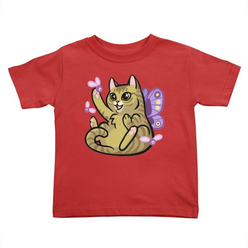 Fairy Cat Kids Toddler T-Shirt by mirana's Artist Shop