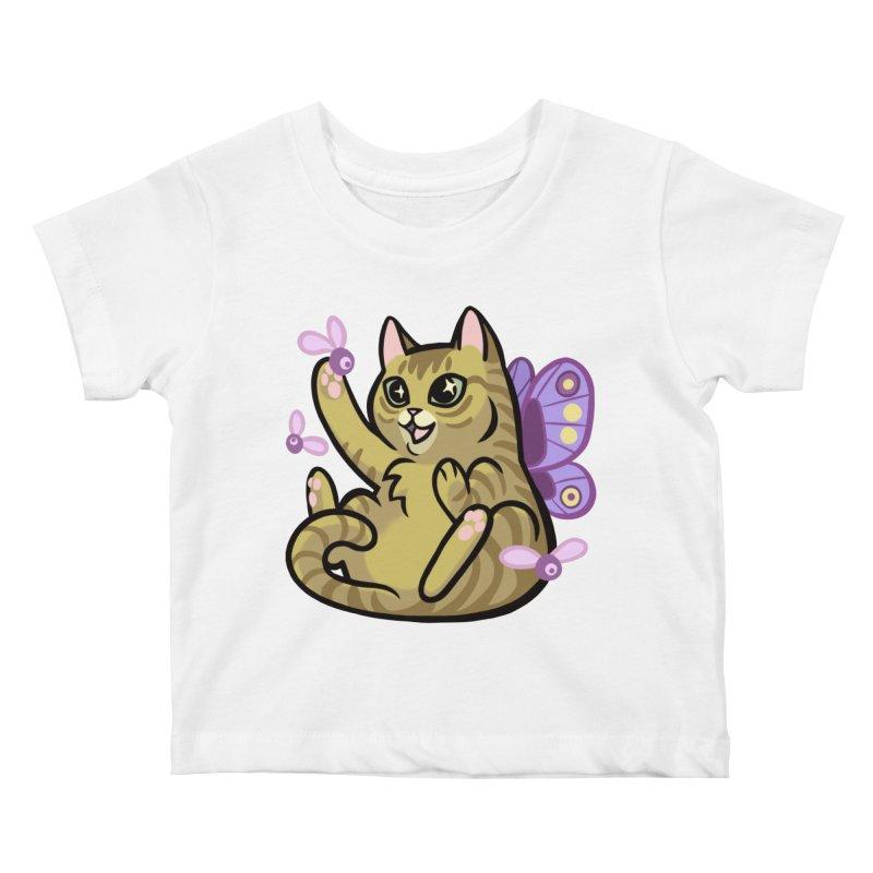 Fairy Cat Kids Baby T-Shirt by mirana's Artist Shop