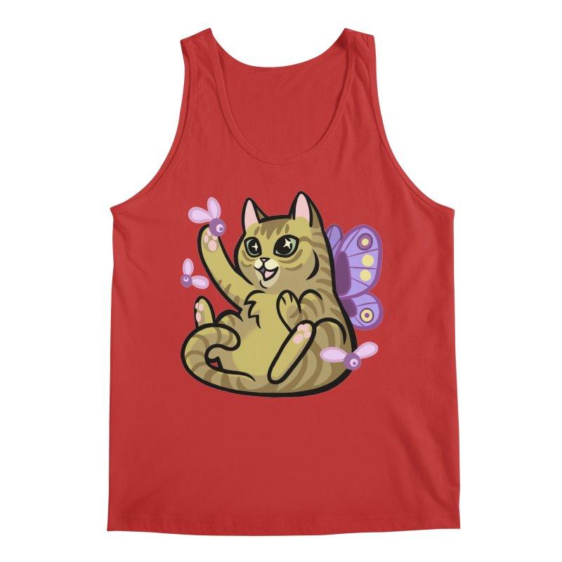 Fairy Cat Men's Regular Tank by mirana's Artist Shop