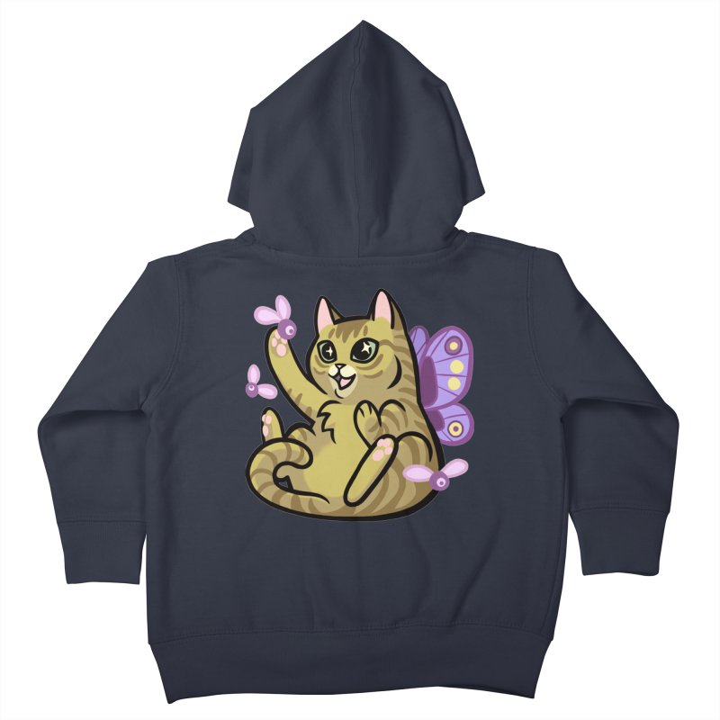 Fairy Cat Kids Toddler Zip-Up Hoody by mirana's Artist Shop