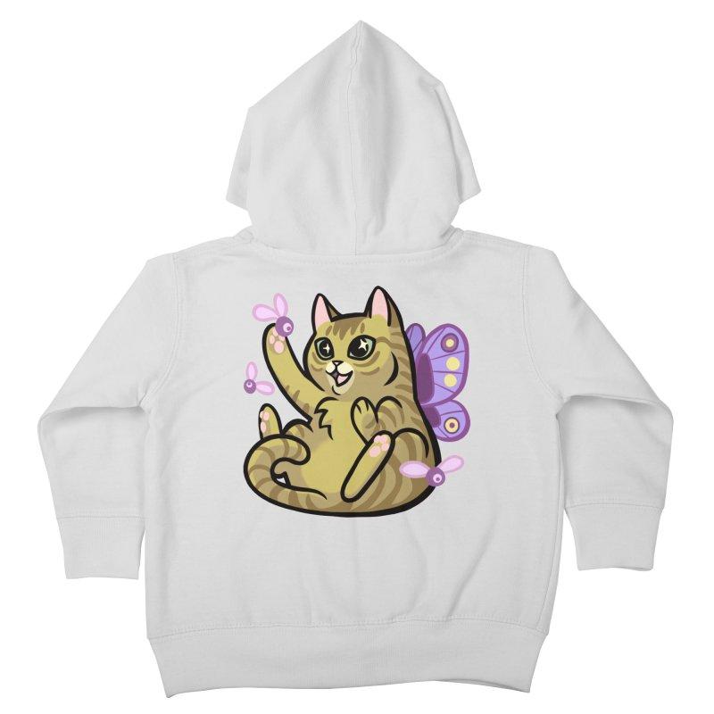 Fairy Cat Kids Toddler Zip-Up Hoody by mirana's Artist Shop