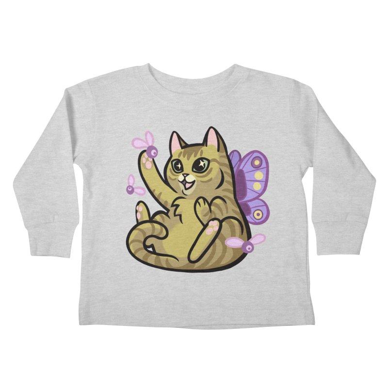 Fairy Cat Kids Toddler Longsleeve T-Shirt by mirana's Artist Shop