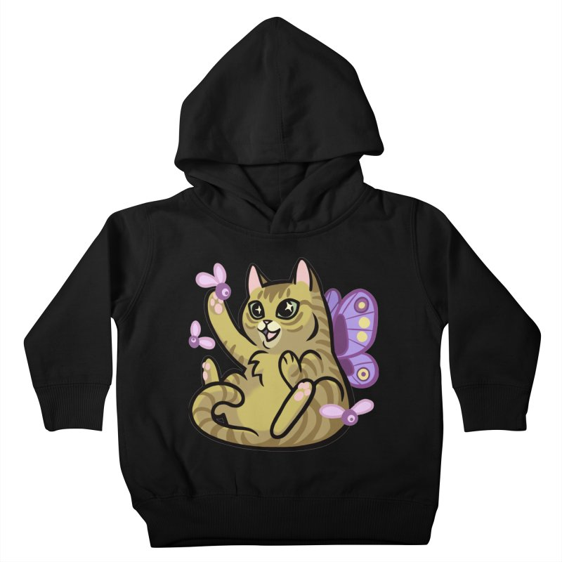 Fairy Cat Kids Toddler Pullover Hoody by mirana's Artist Shop
