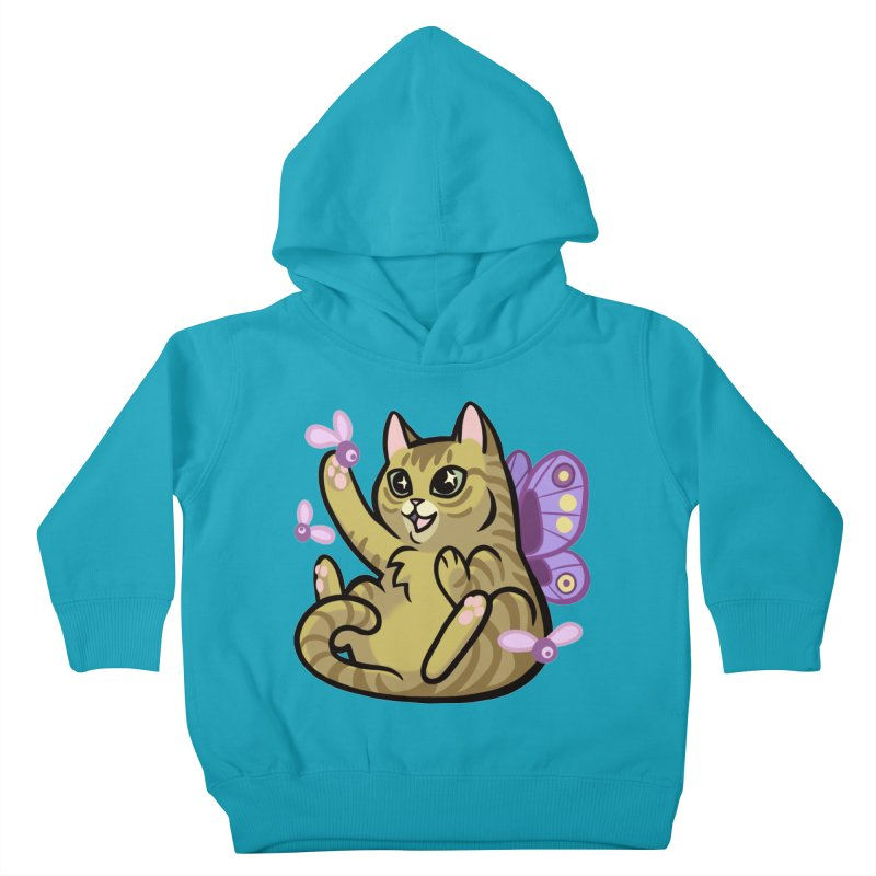 Fairy Cat Kids Toddler Pullover Hoody by mirana's Artist Shop