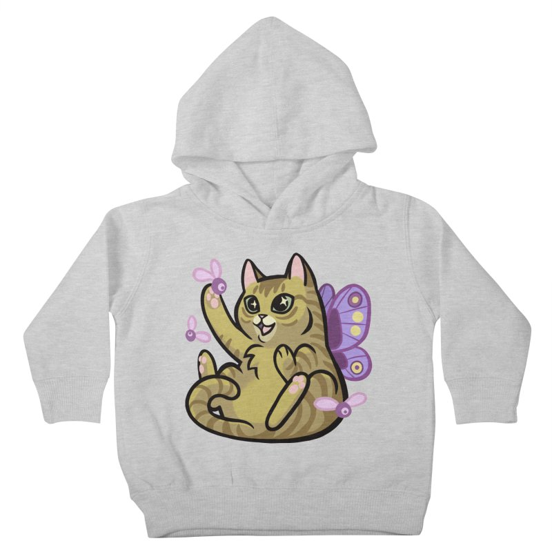 Fairy Cat Kids Toddler Pullover Hoody by The Art of Mirana Reveier