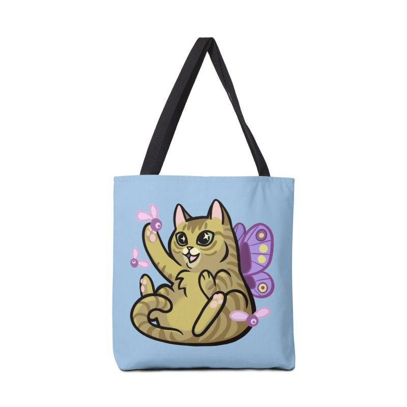 Fairy Cat Accessories Tote Bag Bag by mirana's Artist Shop