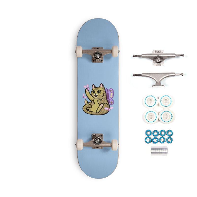 Fairy Cat Accessories Skateboard by The Art of Mirana Reveier