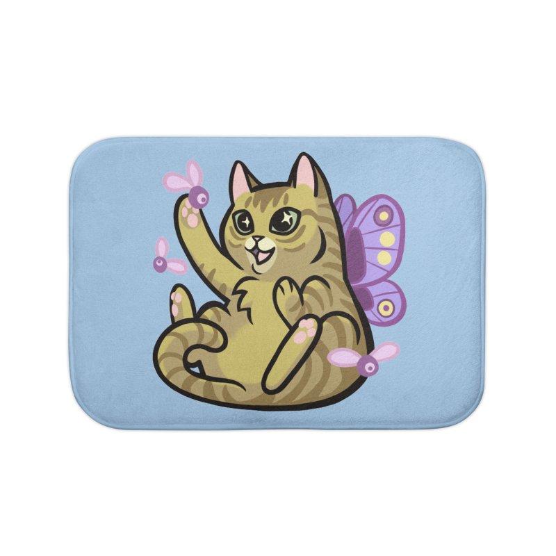 Fairy Cat Home Bath Mat by The Art of Mirana Reveier