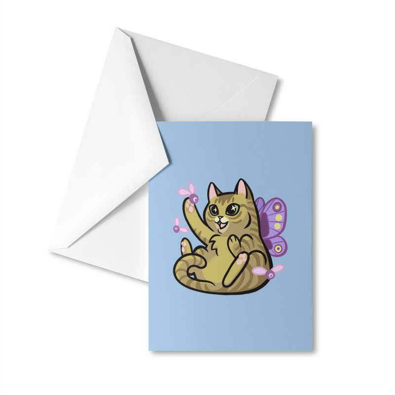 Fairy Cat Accessories Greeting Card by The Art of Mirana Reveier