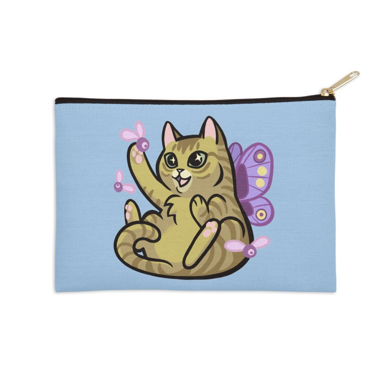 Fairy Cat Accessories Zip Pouch by mirana's Artist Shop