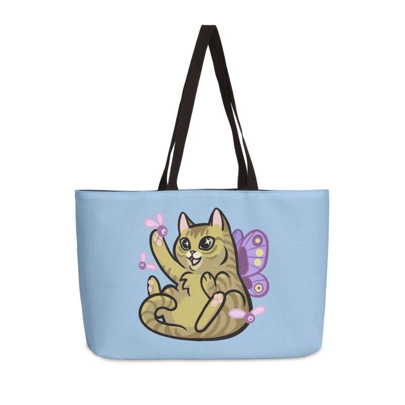 Fairy Cat Accessories Weekender Bag Bag by mirana's Artist Shop