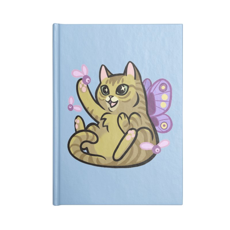 Fairy Cat Accessories Notebook by mirana's Artist Shop