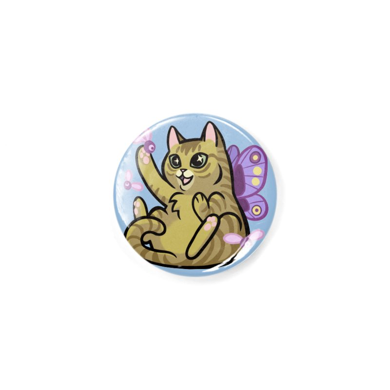 Fairy Cat Accessories Button by The Art of Mirana Reveier