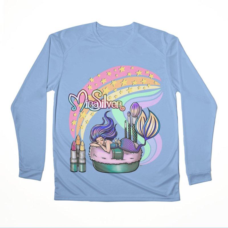 Merdreams Men's Longsleeve T-Shirt by Mira Silver Art