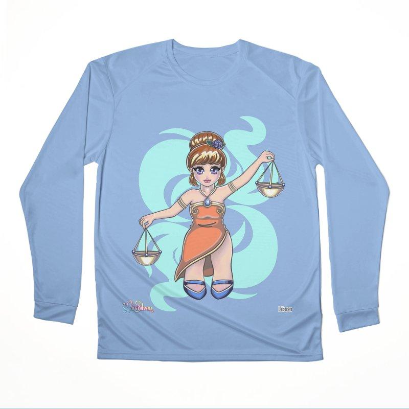 Libra the Scales Men's Longsleeve T-Shirt by Mira Silver Art