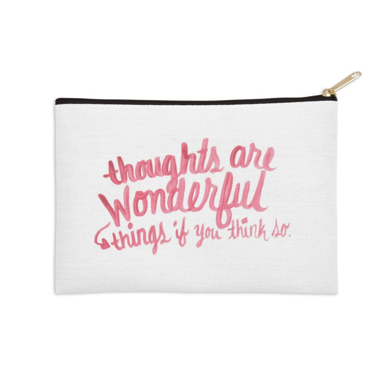 think good in Zip Pouch by